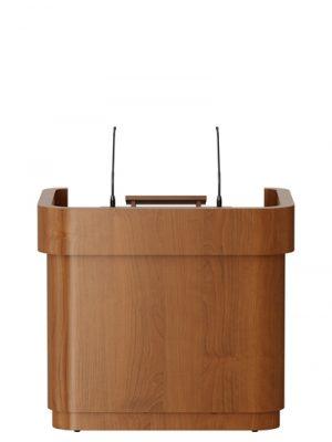 Isert Wooden Height Adjustable lectern